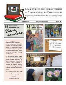 LEAP Newsletter - Summer 2013_Page_01
