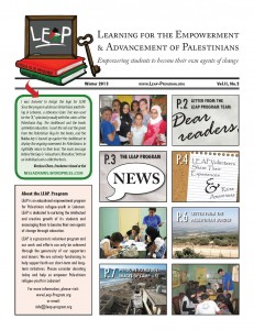 LEAP Newsletter - Winter 2013_Page_1